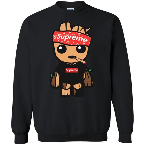 6faf845fa Funny Kid Groot Supreme T-shirt – Beautify Apparels