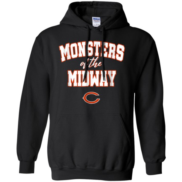 online store 71f88 ec86f Monsters Of The Midway- Chicago Bears Shirt Hoodie – teelix